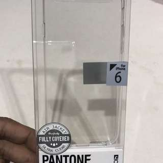 Iphone 6 Clear Hard Cover Pantone