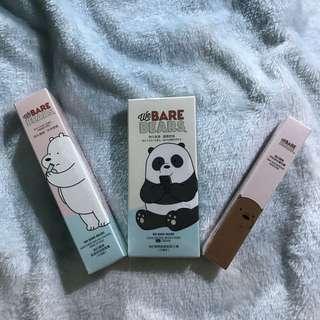 We Bare Bears Makeup