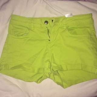 H&M Mid Rise Shorts