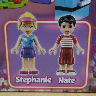 Lego Friends - Stephanie & Nate