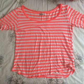 Hollister Bright Stripped Shirt