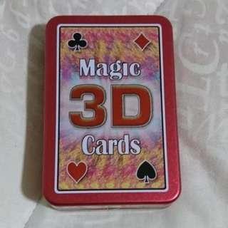 Magic 3D Playing Cards