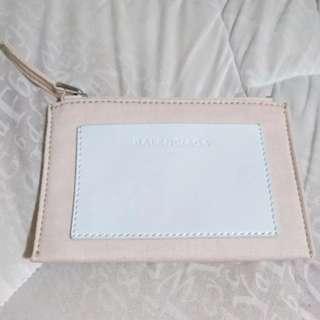 Balenciaga two tone pouch/wallet/holder