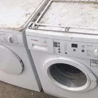 Bosch Washing Machine & Dryer