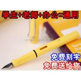英雄HERO 359正姿 夏日色彩練字銥金鋼筆墨水筆