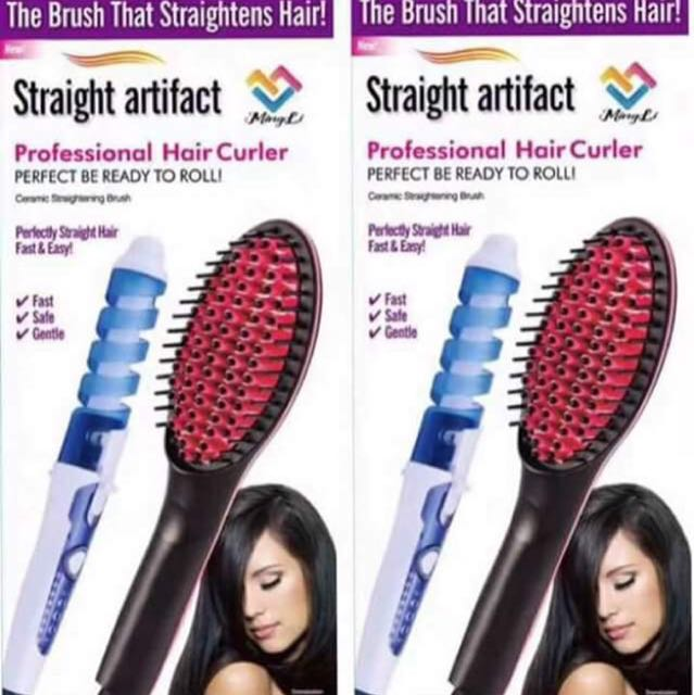 2in1 Hair Straightener And Curler