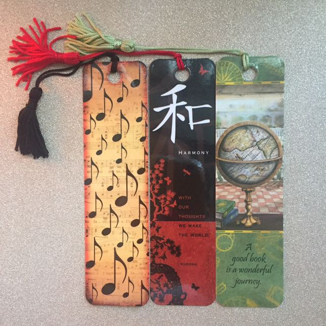 3 Bookmarks For 1$