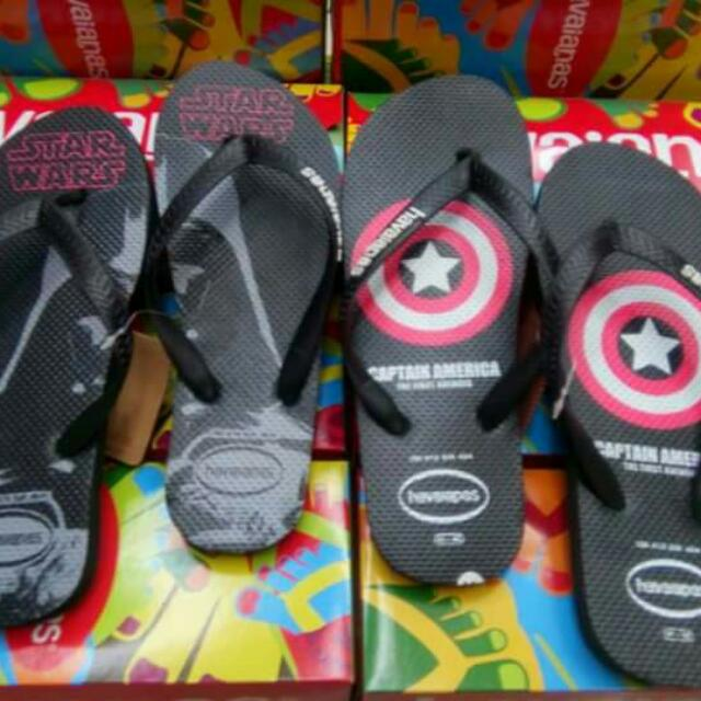 400 Php sizes 39-43 For men Havaianas overruns