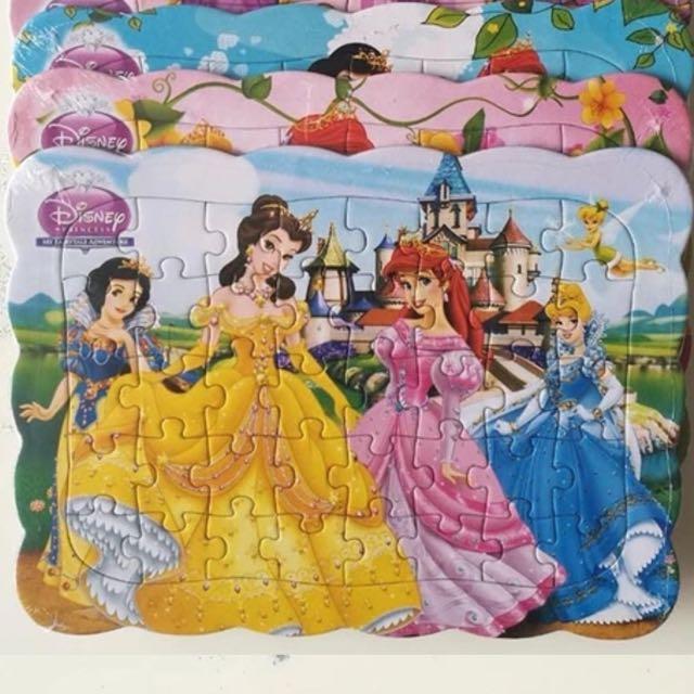 迪士尼公主拼圖