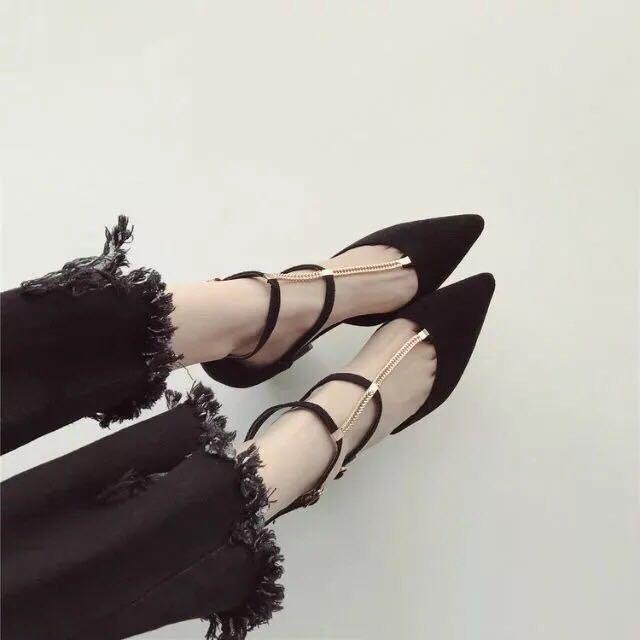 尖頭鞋 38號