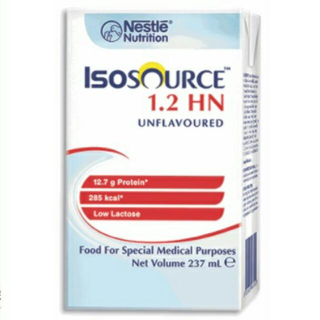 雀巢 益源素 Isosource 1.2 HN 237ML (1箱24包)