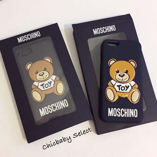 現貨 正品 Moschino 小熊手機殼 IPhone 6/6S/7