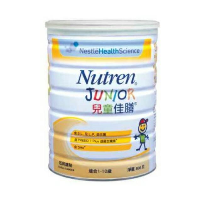 雀巢 佳膳兒童配方 nutren junior 呍呢嗱味 400g/800g