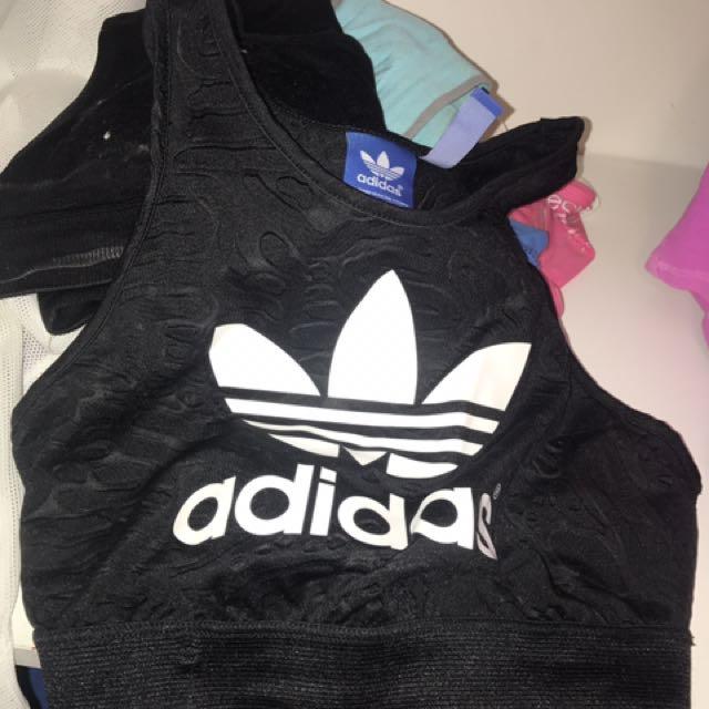 Adidas Crop Top/sports Bra