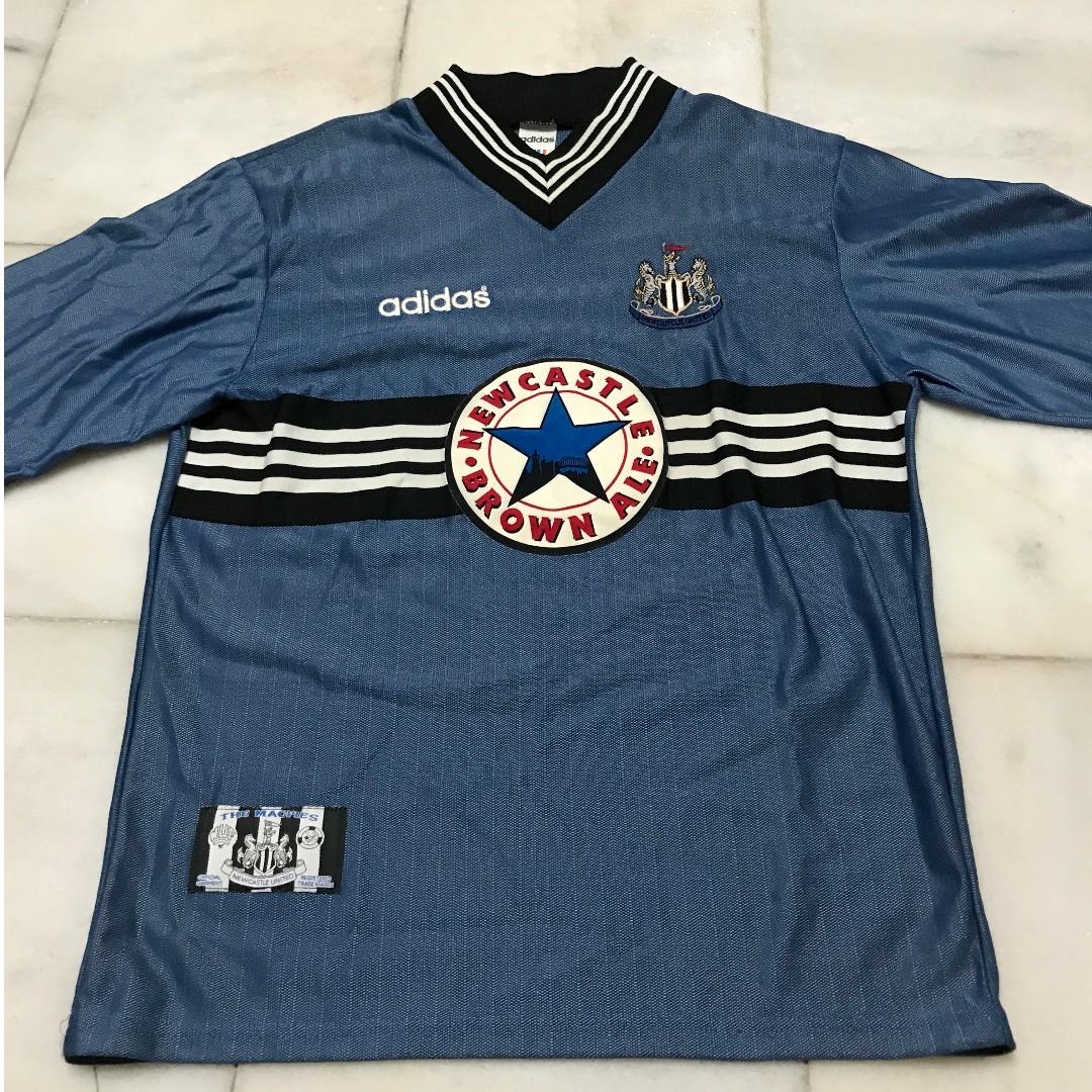 new arrive 8abf8 fae39 Adidas Newcastle United FC 96/97 Away Shirt - Vintage