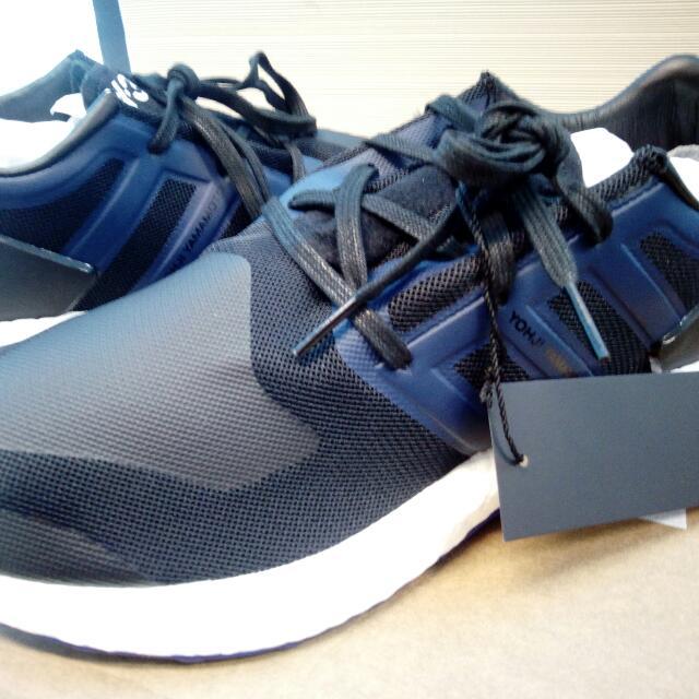 1afe42d1550f8 Adidas Y3 Pureboost Core Black Amazon Purple