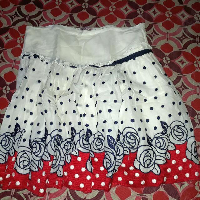 Adjustable Printed Bubble Skirt