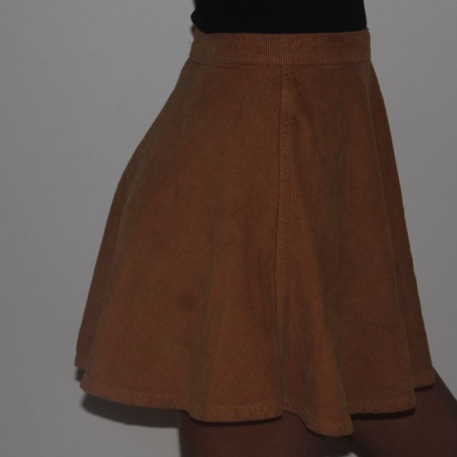 American Apparel Brown Skirt