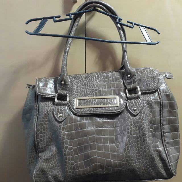 Authetic Nine West Croc Bag