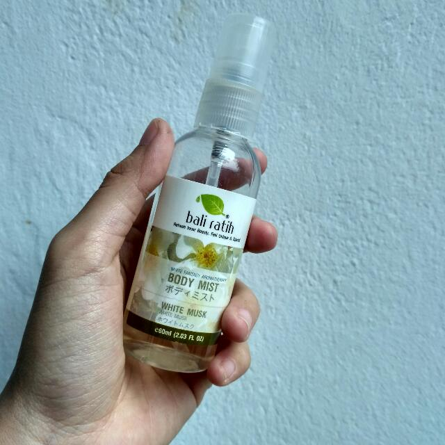 Bali Ratih White Musk Body Mist