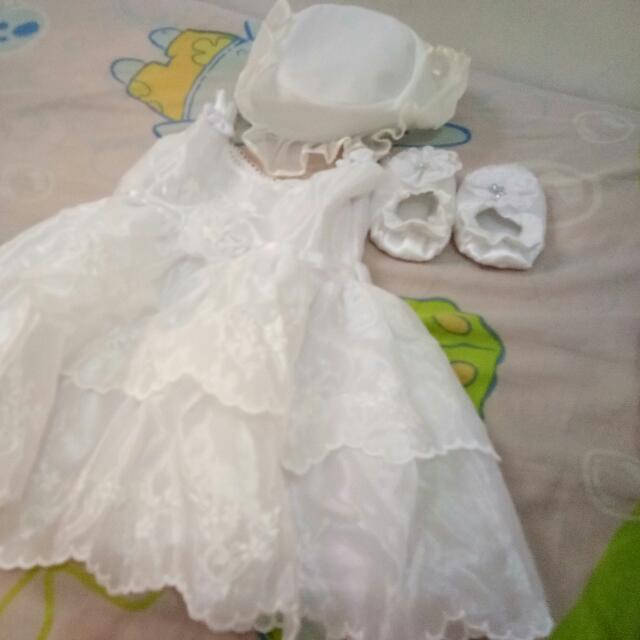 Baptism Dress Set
