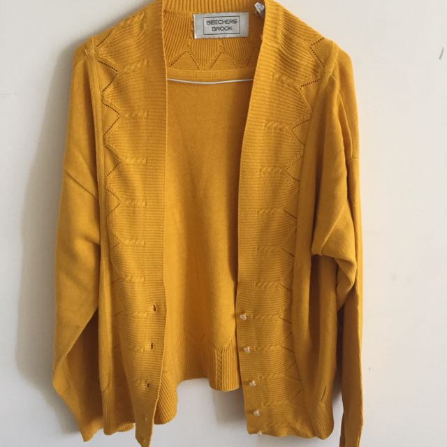 Beechers Brook Mustard Sweater