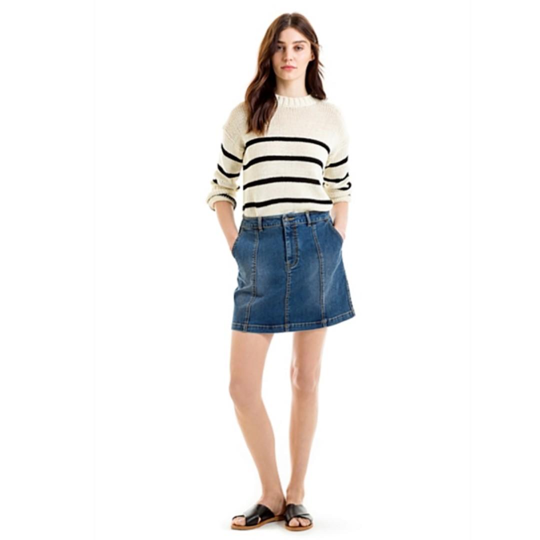 BRAND NEW Country Road Womens Knit BATEAU TAPE YARN Knit Size: Medium M