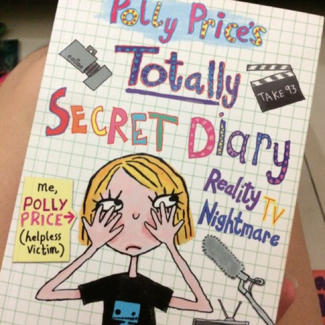 buku polly price's totally secret diary