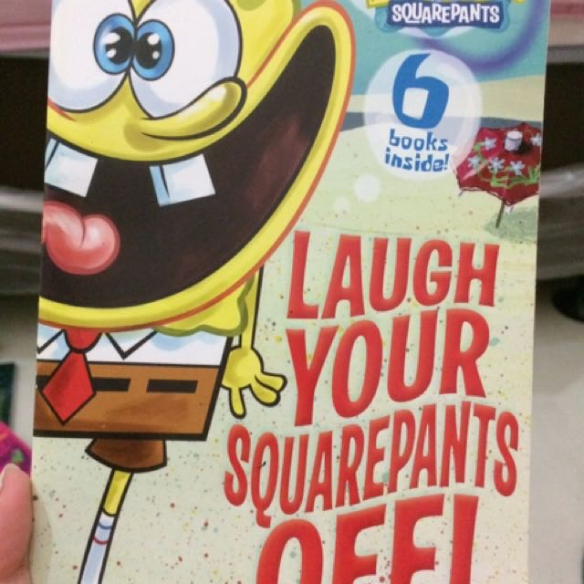 buku spongebob squarepants - laugh your squarepants off