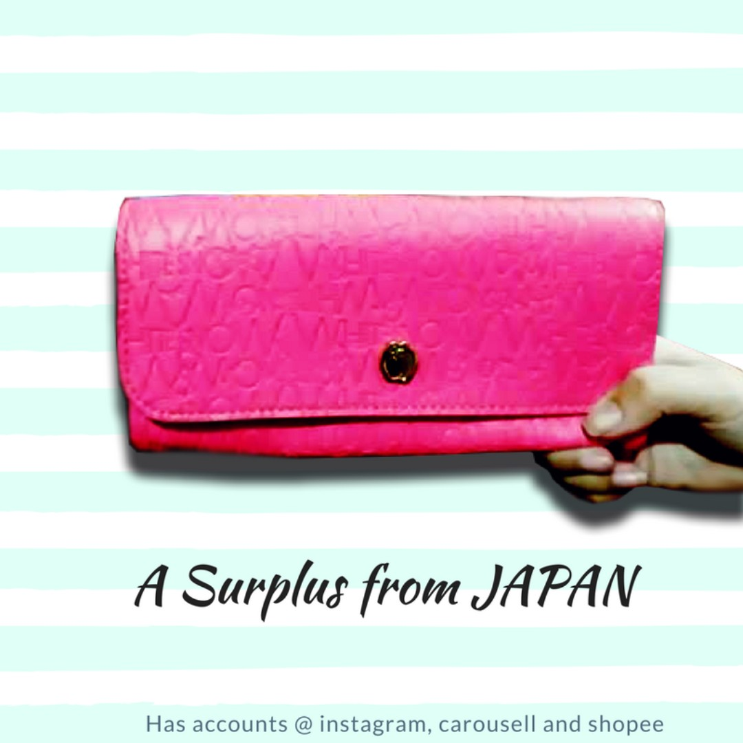Candy Pink Purse / Wallet