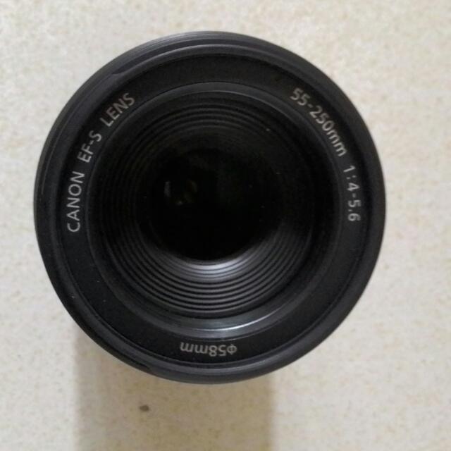 Canon EFS 55-250 Lens