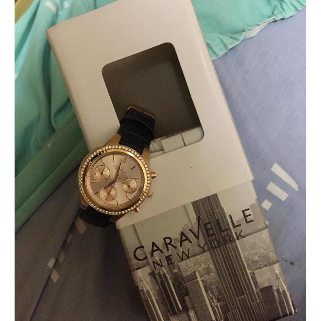 caravelle new york ladies watch