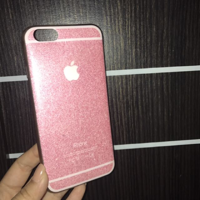 Case Iphone 6 Pink Glitter