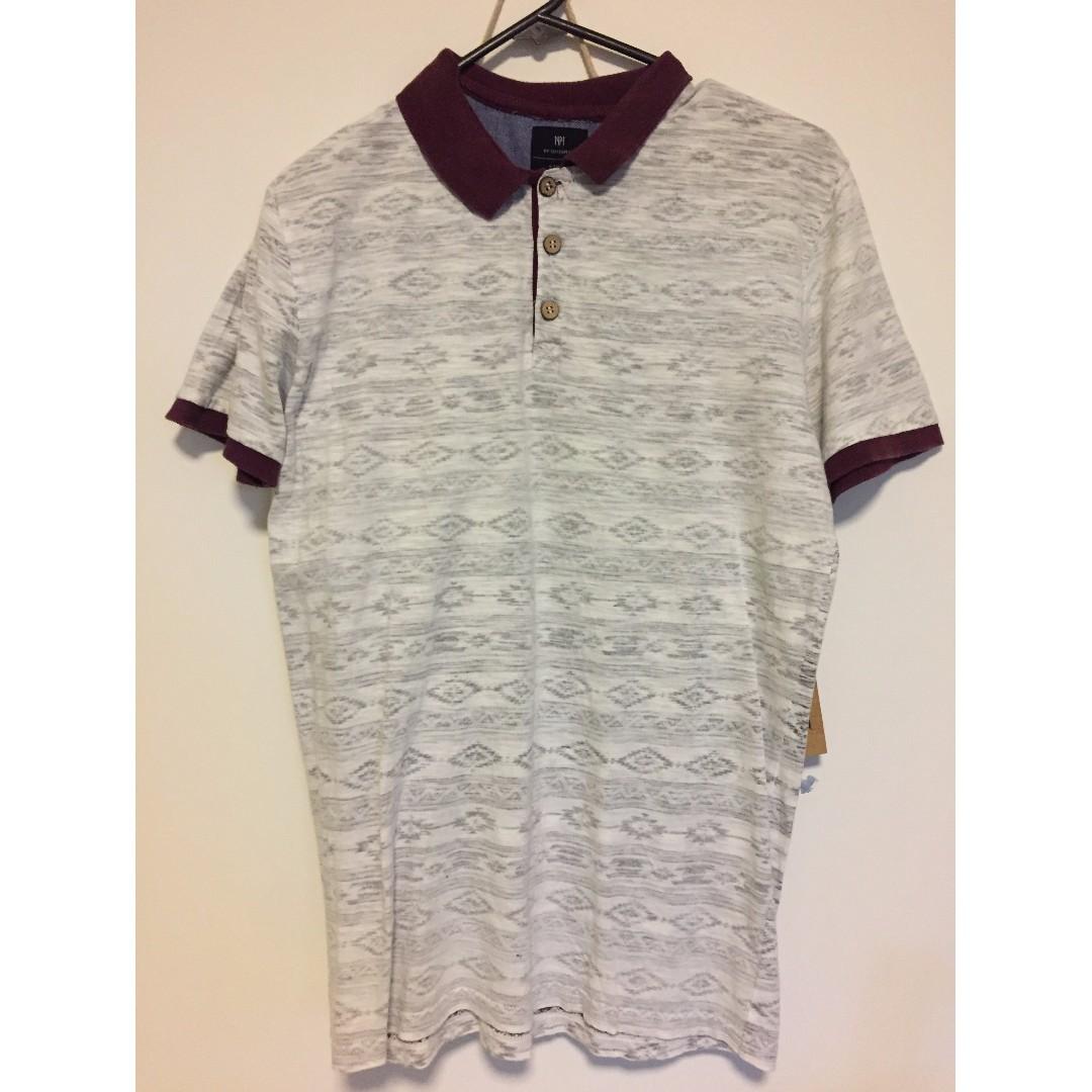 Cotton On Aztec Print Shirt