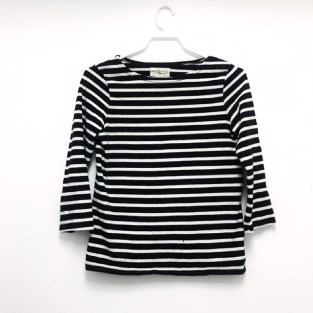 Denim & Supply Ralph Lauren Striped Top (sz XS)