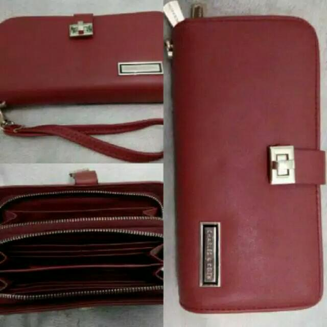 Dompet Charles&Keith premium Preloved