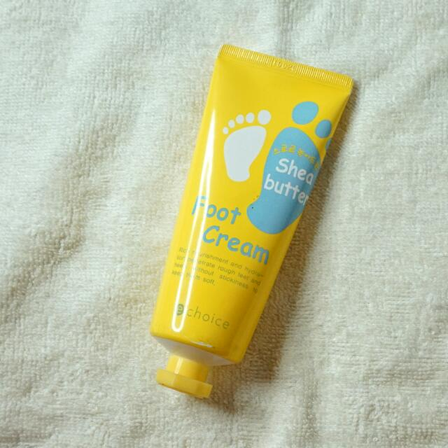 Echoice Korea Shea Butter Foot Cream