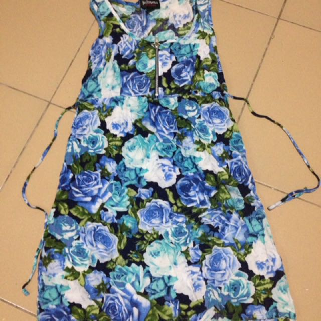 Floral Dress Knee Length