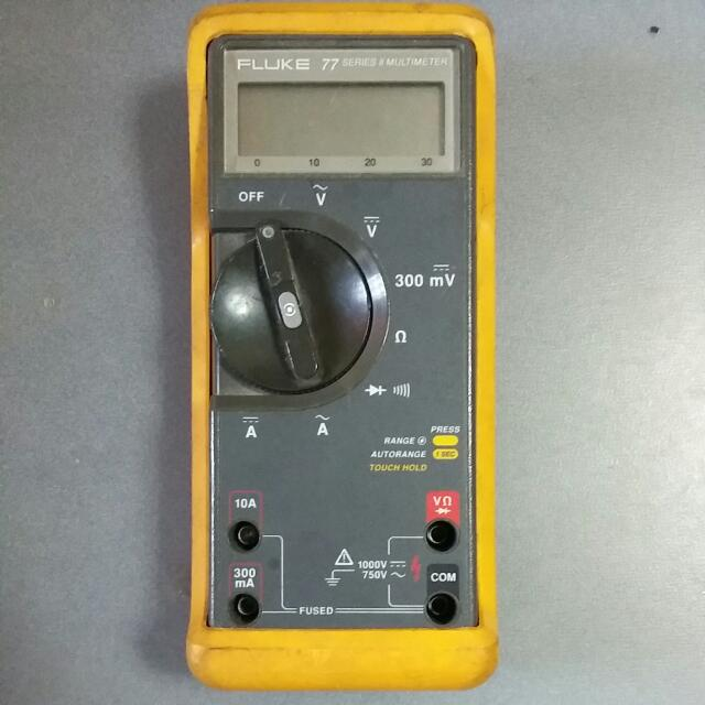 fluke 77 series 2 manual