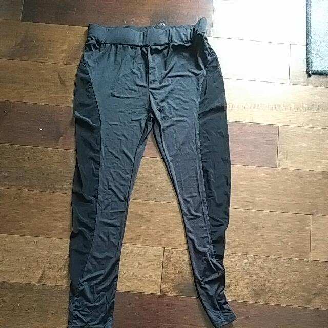 High Waist Mesh Leggings Size L-XL