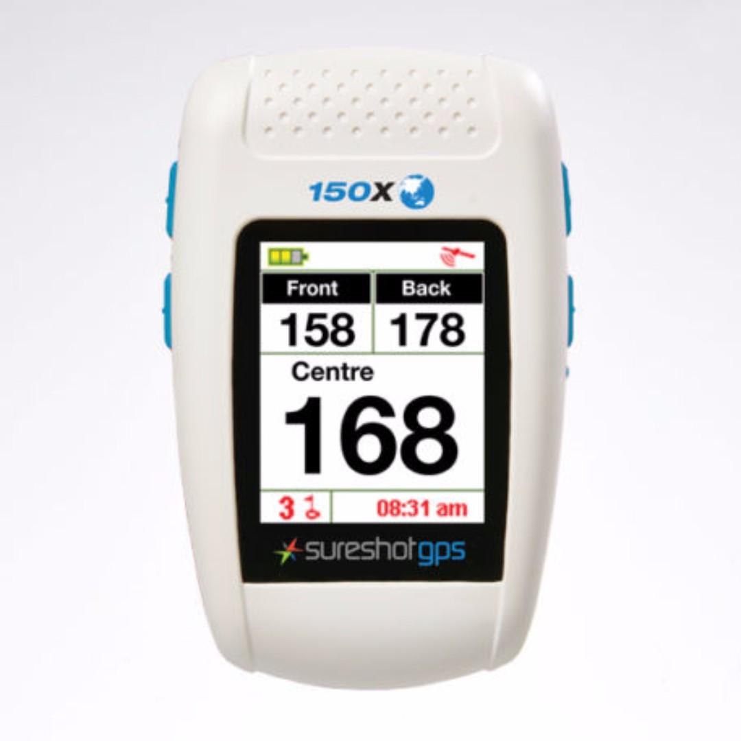 Immaculate Sureshot Hero 150X Golf GPS (Latest Model) with Lifetime Membership