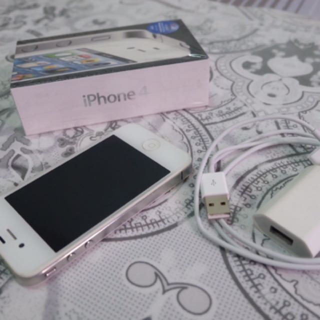 Iphone 4 (8 Gb) White