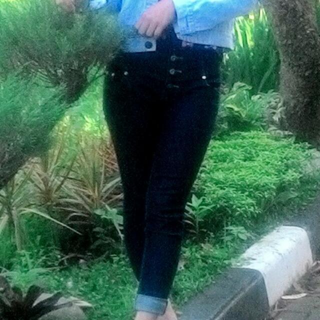 Jeans HW 5kancing