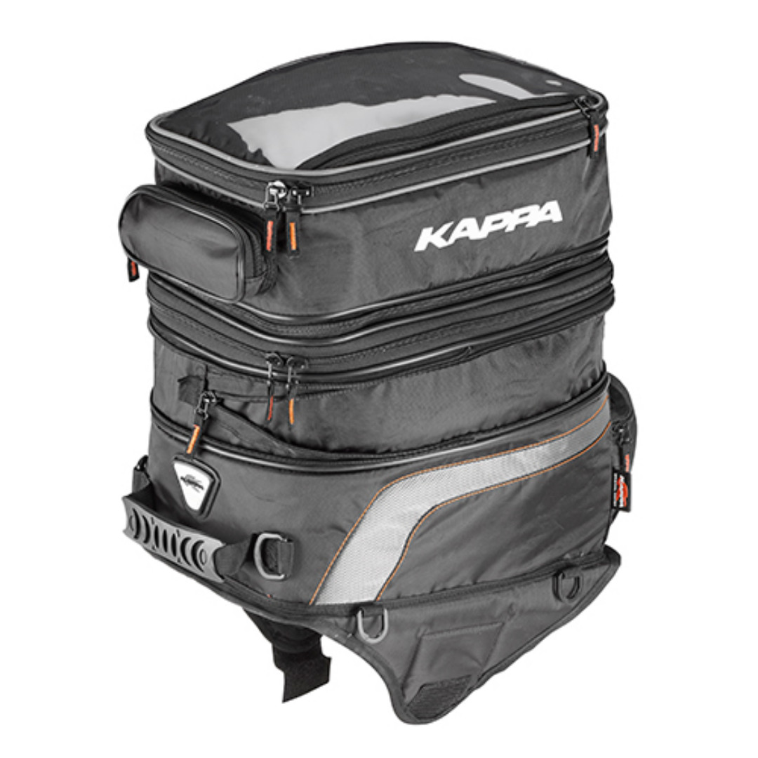 a7370aa4c7 Kappa LH201 Double Magnetic Motorcycle Tank Bag Expandable 30 - 40ltrs,  Motorbikes, Motorbike Apparel on Carousell