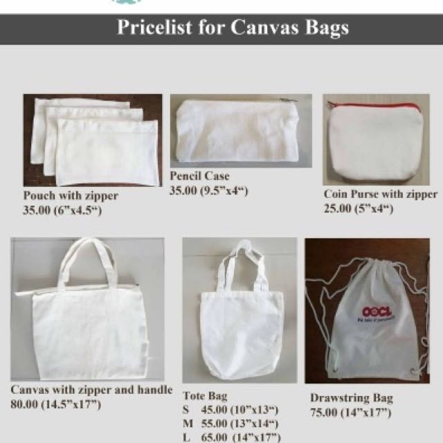 katcha/ canvas bags