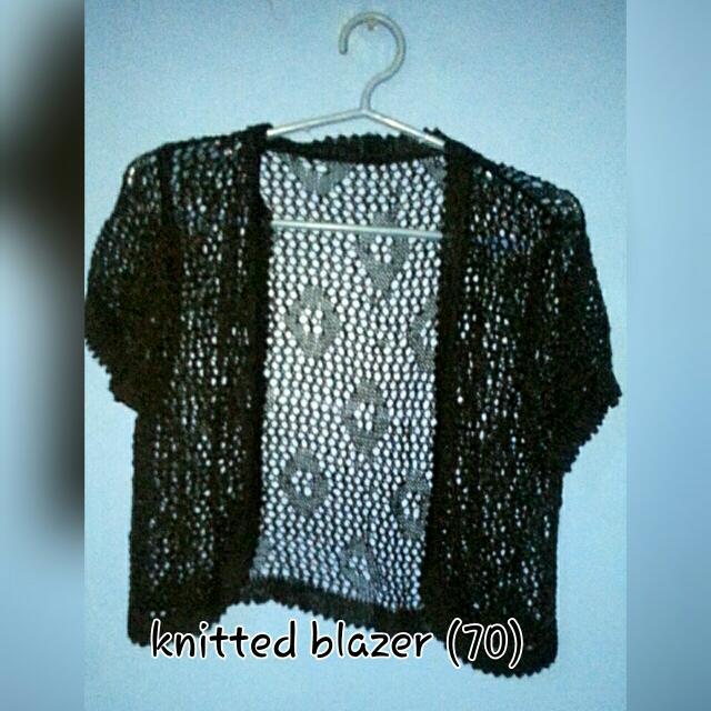 REPRICE! Knitted Blazer