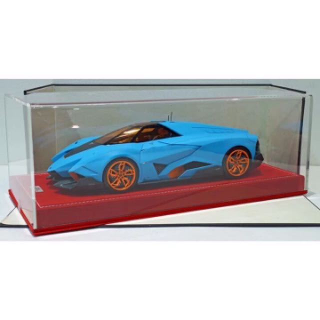 1 18 Lamborghini Egoista Matt Baby Blue Ltd Edt 25pc Toys Games