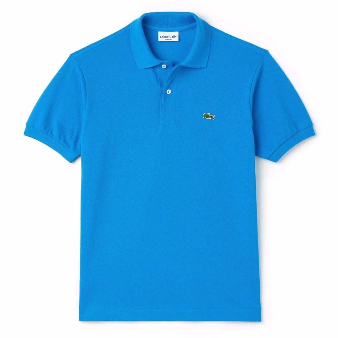 MENS ROUGE POLO T-SHIRT - 10 - L1212 - 240 T5- COLOUR BLUE SIZE: 5