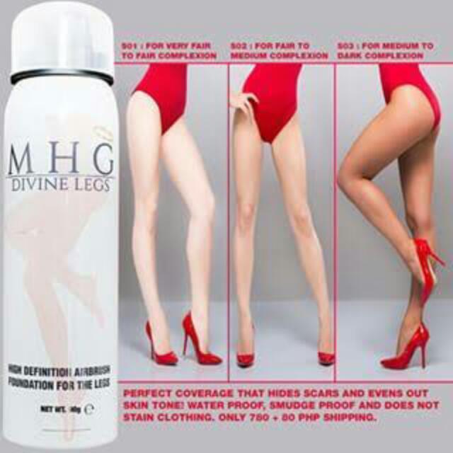 MHG Divine Legs High Definition Airbrush Foundation