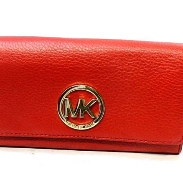 Michael Kors Fulton Leather Carry All Wallet